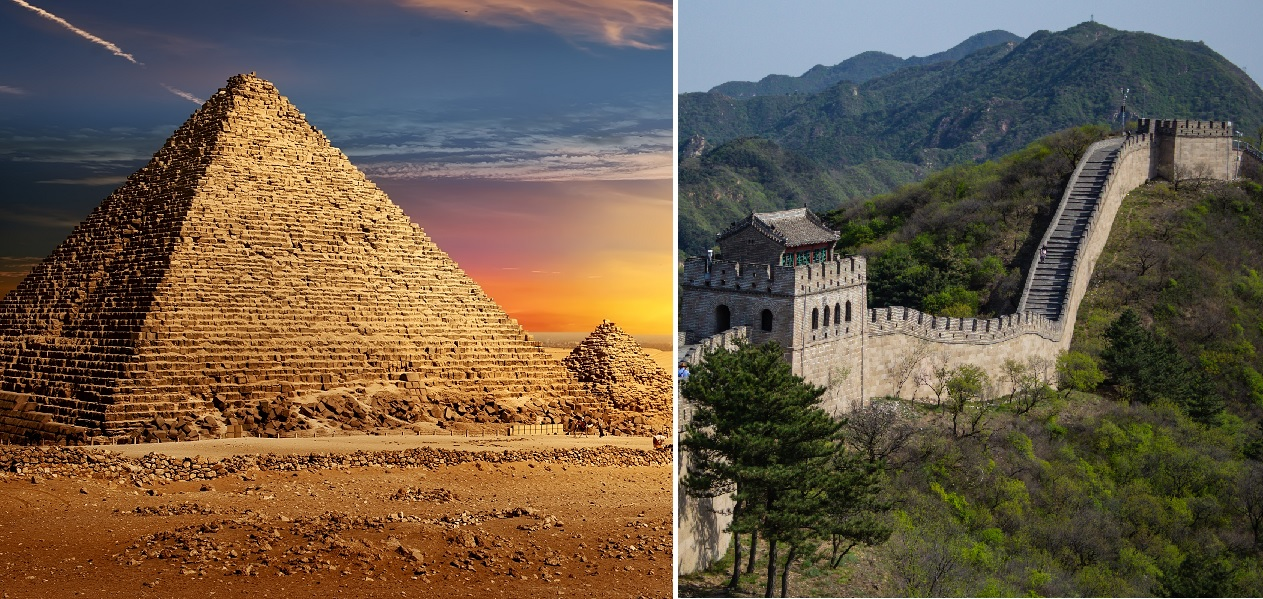 Cover-ups, from China to Pharaoh