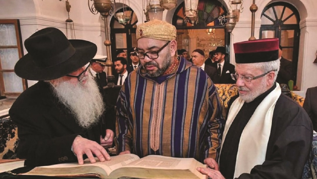 מלכי מדנות המפרץ הפרסים בהם בחריין האמיריות ובעודיה מאחלים שנה לטובה לעם ישראל בעברית Morocco-new